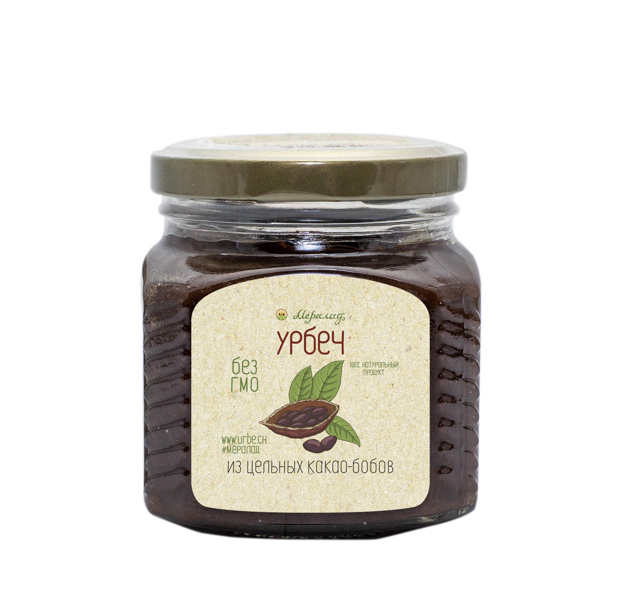 Фото Урбеч из цельных какао-бобов (230г.) от Мералад