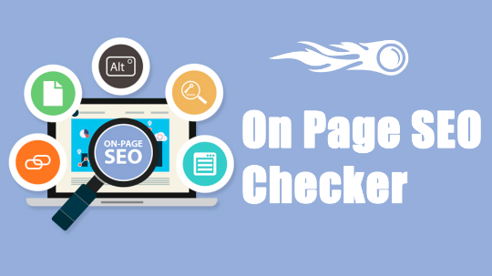 On Page SEO Checker предлагает полный и структурированный список вещей, которые вы могли бы сделать, чтобы улучшить рейтинг страниц на вашем сайте.