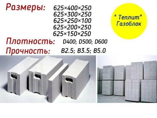 Газоблоки Пермь
