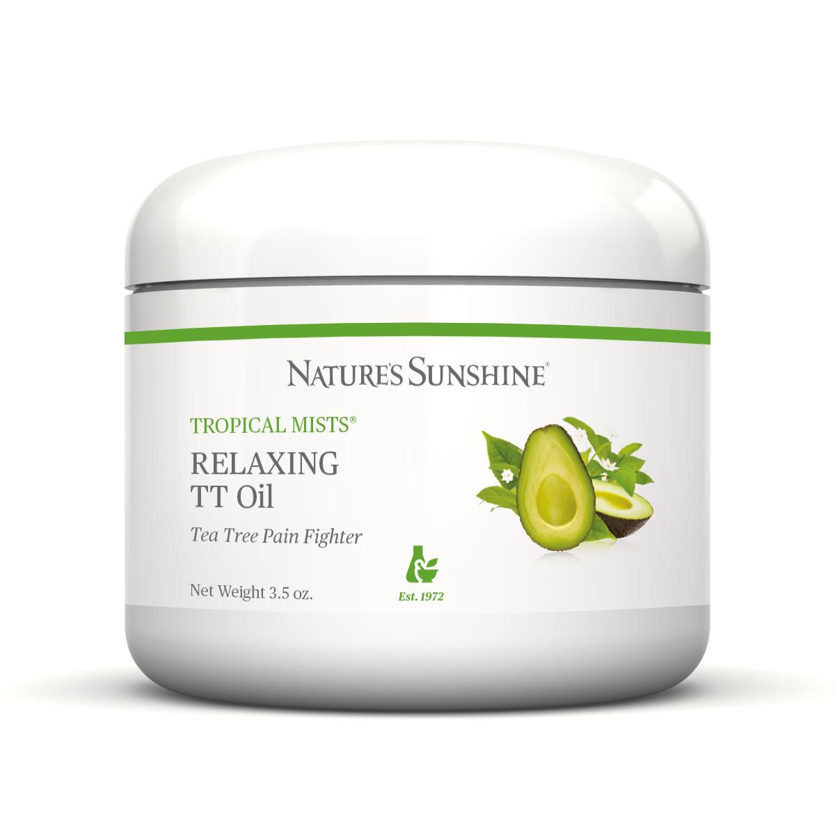 Картинка Обезболивающее и расслабляющее масло / Relaxing TT Oil от магазина Nature's Sunshine Products