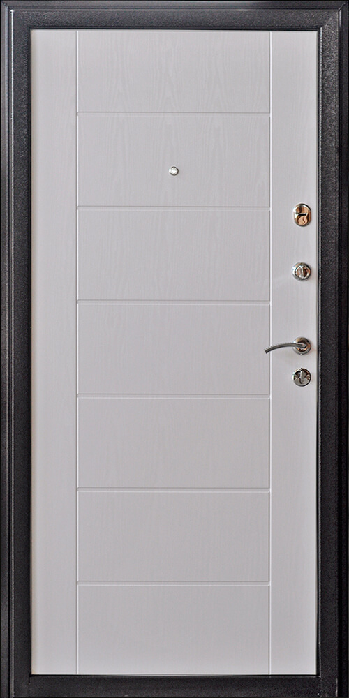 Дверь Квадро 2 Беленый дуб