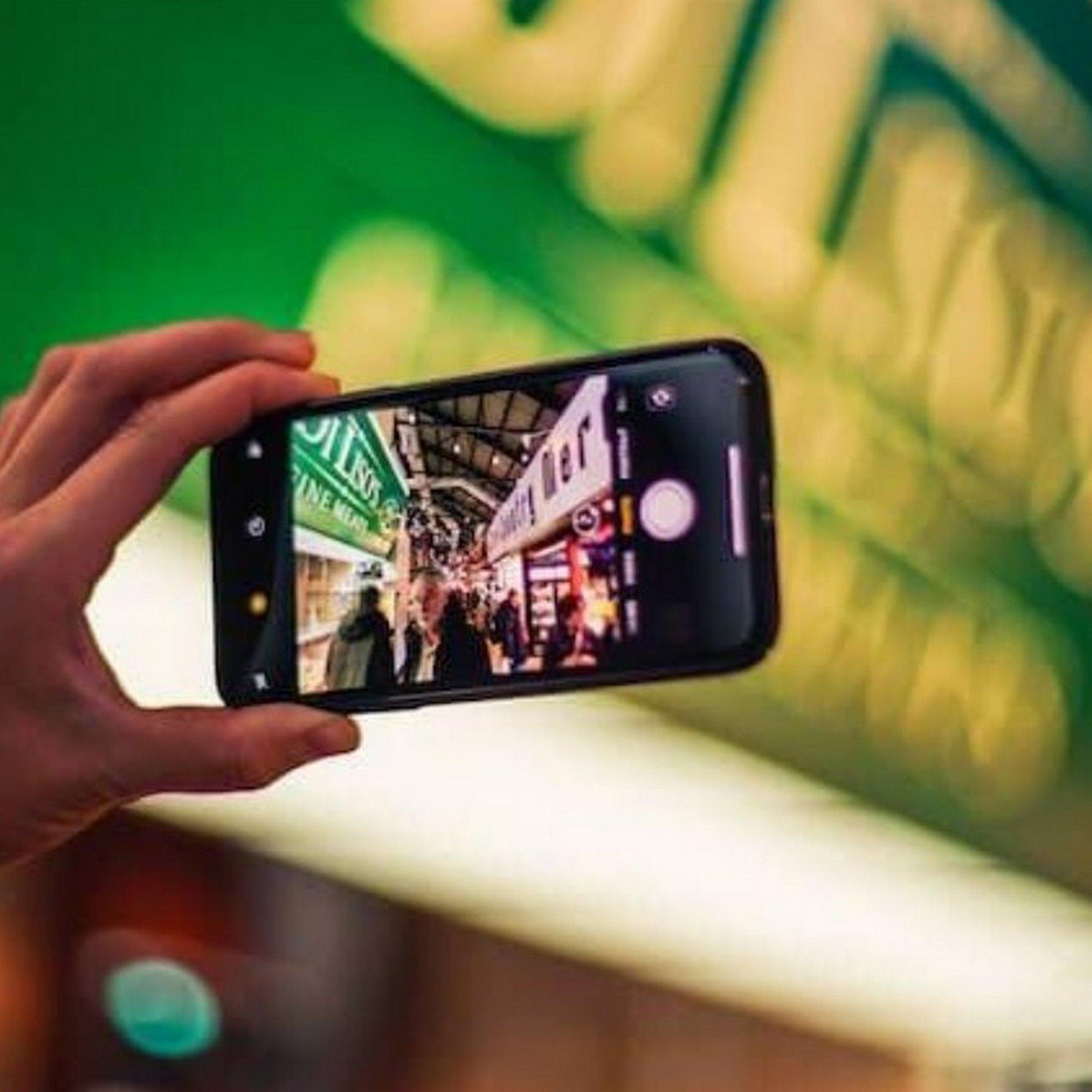 Съемка на Iphone