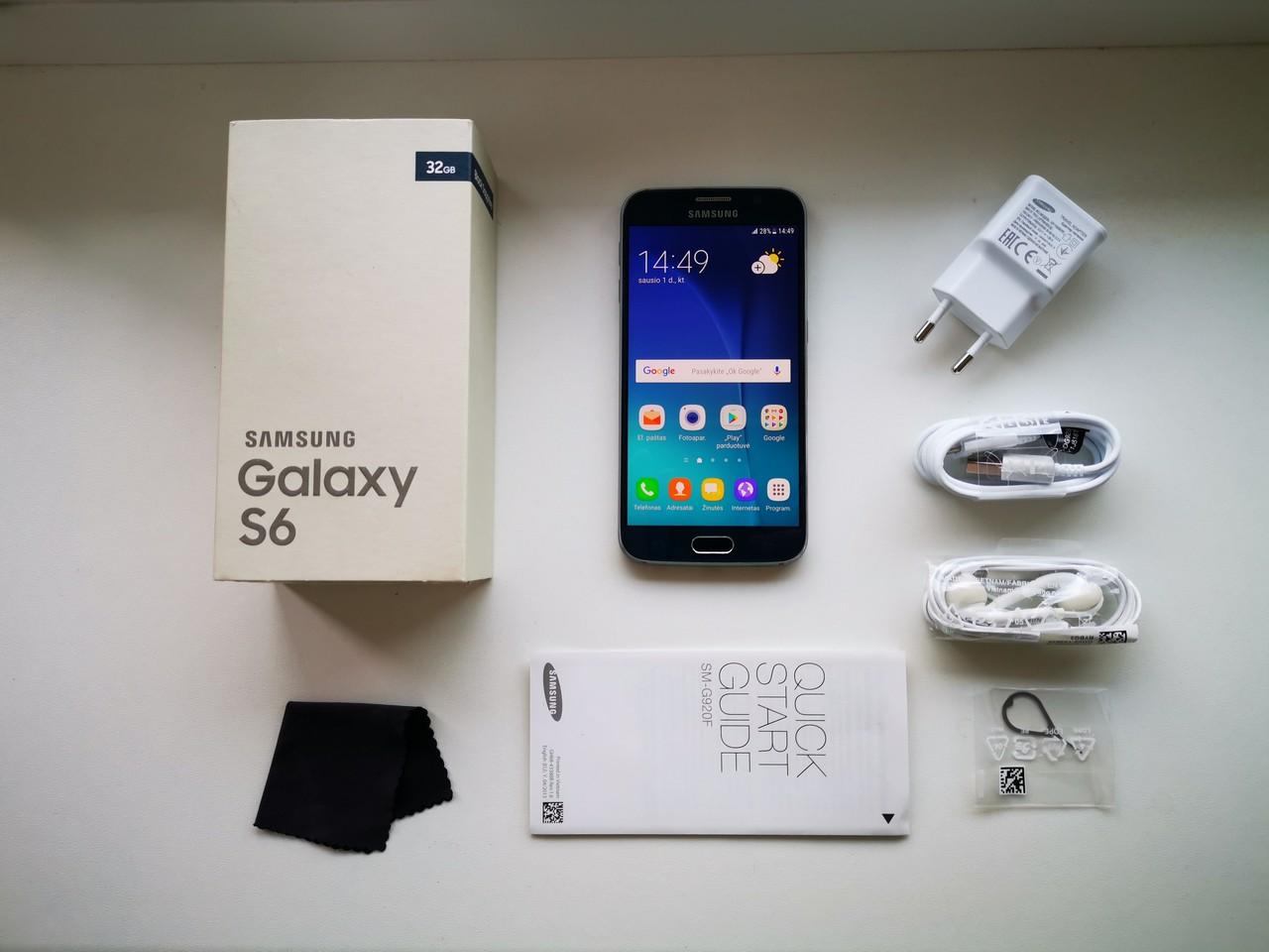 картинка Naudotas Samsung Galaxy S6  от магазина Одежда+