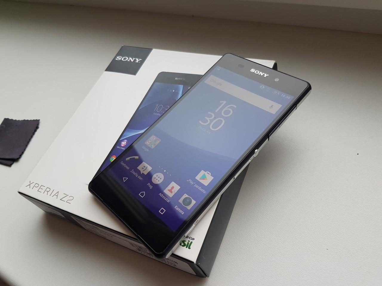 картинка Kaip naujas Sony Xperia Z2 Black от магазина Одежда+