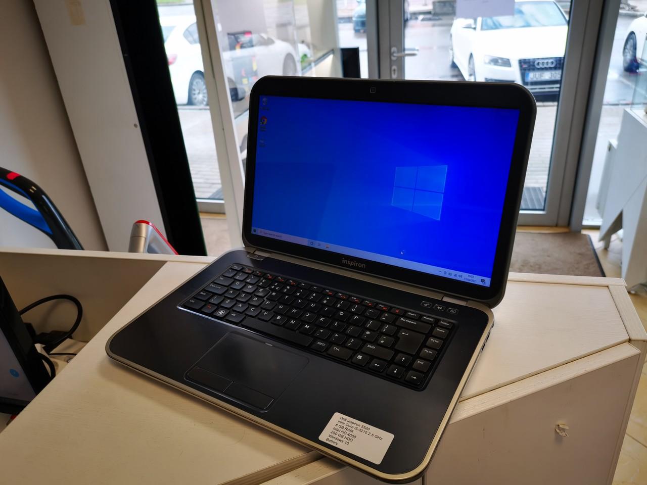 картинка Naudotas Dell Inspiron 5520 i5 8gb RAM от магазина Одежда+
