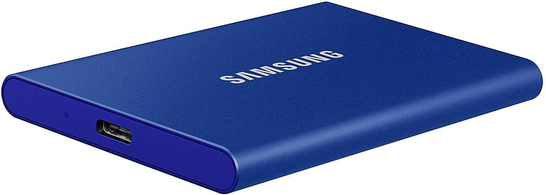 картинка Naujas SSD SAMSUNG T7 500GB USB 3.2 от магазина Одежда+