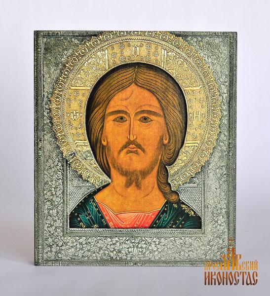 картинка Спаситель 3D от магазина мастерской Ярославский иконостас