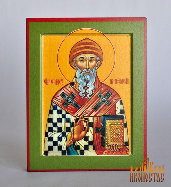 картинка Св. Спиридон от магазина мастерской Ярославский иконостас
